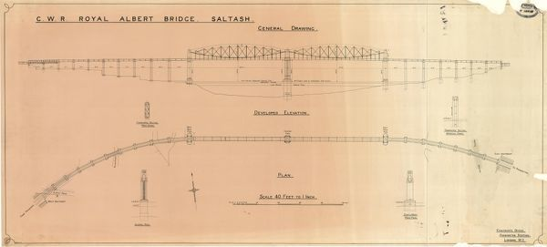 Elevation and Plan of Bridge