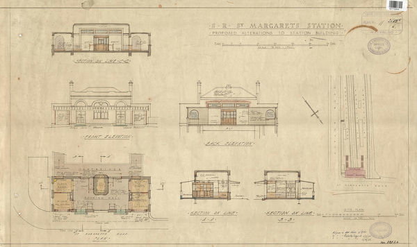 SR - St Margarets Station Proposed Alterations [1935] SZ7153604