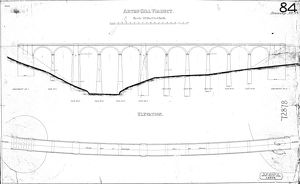 Arten Gill Viaduct Elevation and Plan [N.D]
