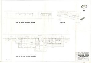 Axminster Station Reconstruction: Ground Floor Plan [18/12/1959]