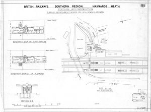 British Railways Southern Region - Haywards Heath Station Reconstruction [N.D]