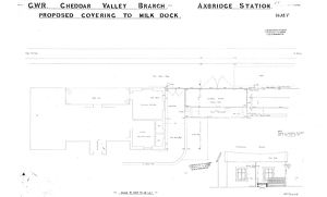 G.W.R. Axbridge Station - Proposed Covering to Milk Dock [n.d.]