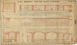 GWR Birmingham Snow Hill - station alterations dwg no.11 (not dated)