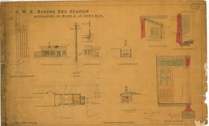 G.W.R. Bourne End Station: Alterations to Rooms etc on Down Side [1894]
