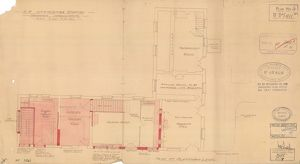 S.R. Ilfracombe Station - Proposed Improvements Plan at Platform Level [1929]