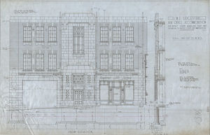 stations/leicester station/lms leicester parcels office elevation nd
