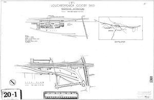 LMS Loughborough Goods Shed - Proposed Alterations [1935]