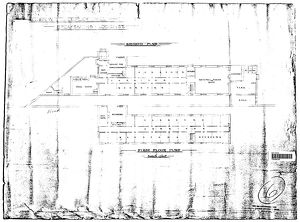L&N.W.R Copley Hill - Breakmens Lodgings including Ground Floor and First Floor Plan [N.D]