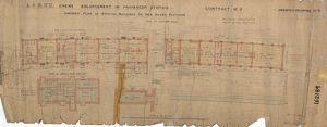 L&NWR Crewe Enlargement of Passenger Station - Amended Plan of Station Buildings [1905]