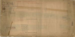 L&N.W.R Lancaster Station Enlargement - New Platform and Additional Buildings [1899]