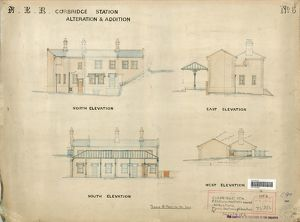 N.E.R Corbridge Station Alterations and Additions [N.D]