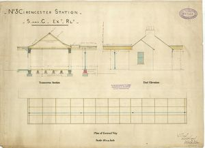 No.3 Cirencester Station - S and C Extension Railway [1883]