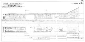 North London Railway - South Bromley Station Plan of Waiting Rooms [N.D]