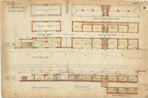 SE & CR Tunbridge Wells Station - Down Side Buildings [1911]