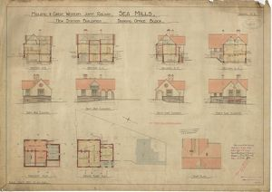 Midland & Great Western Joint Railway - Sea Mills - New Station Buildings - Booking