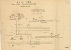 S.R. Bishopstone Station - New Station: Detailed Requirements [1938]