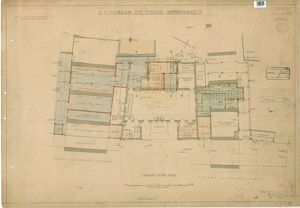 S.R Peckham Rye Station Improvements. Ground Floor Plan [1935]