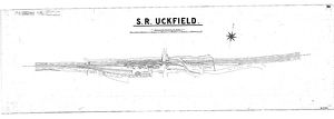 S.R Uckfield Station Track Layout [N.D.]