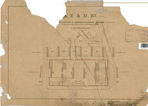 London, Chatham and Dover Railway - Elephant And Castle Station - Ground Plan [1874]