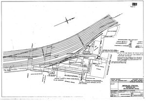 Waterloo Station, Necropolis Site - Plan of Site for proposed offices [1955]