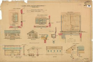 Yeovil Junction Improvements Goods Shed, Drawing No. 11 [1906]